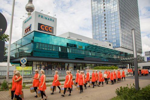 Flashmob Berlin Alexanderplatz 4