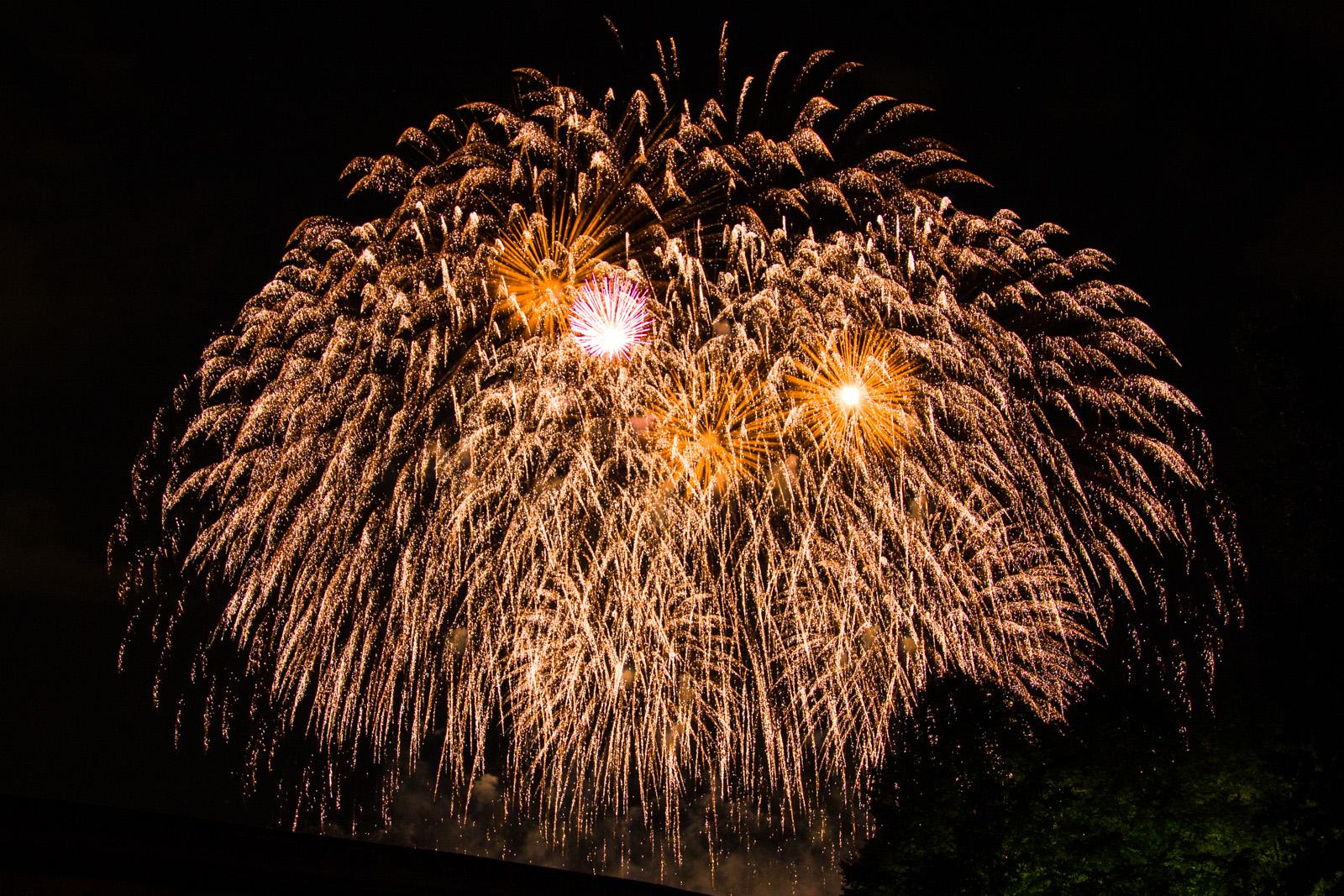 Funkelndes-Feuerwerk