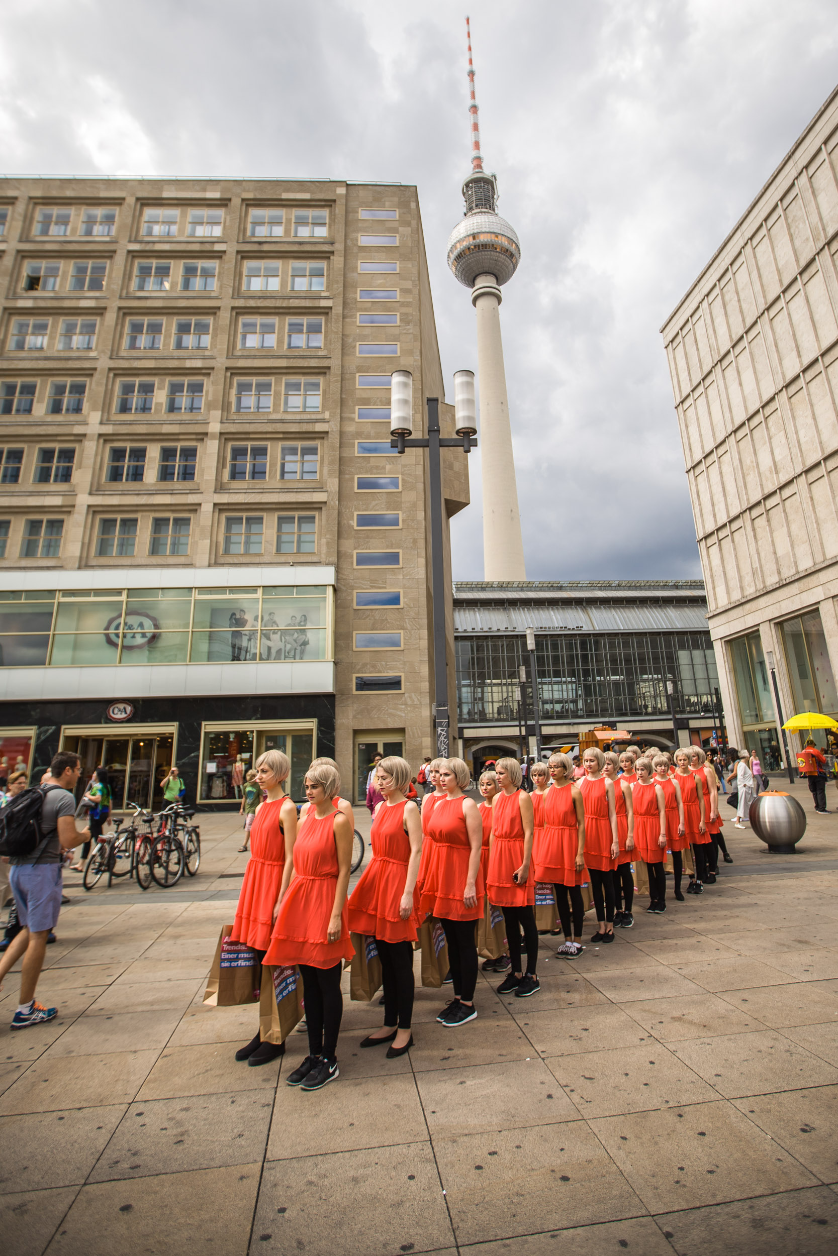 Flashmob Berlin Alexanderplatz 11
