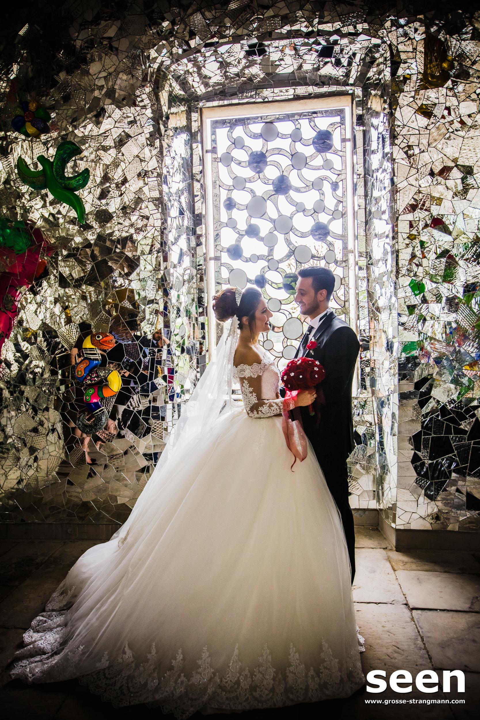 Blaue Grotte Hochzeitsfotos